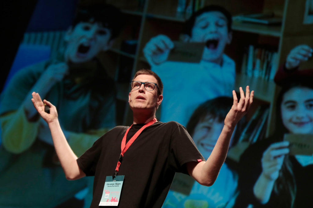 Christian Negre i walczak al #ITWorldEDU