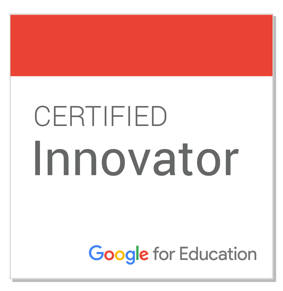 Christian Negre i Walczak is a Google Certified Educator Innovator. Click to see!