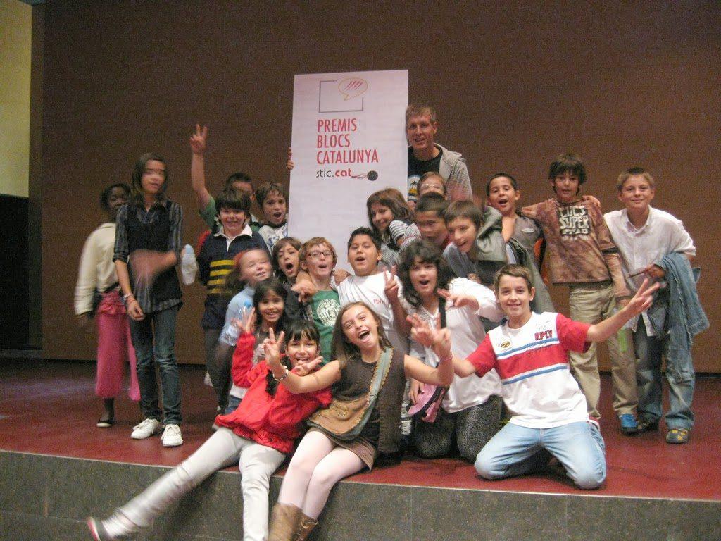Este fue uno de los primeros grupos en participar en la aventura. Entrega de premios Bloc Catalunya 2010.