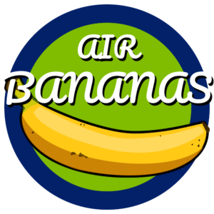 Air Banana Logo Lletres